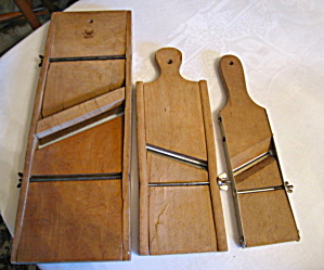 Vintage Primitive Kitchen Cabbage Cutters (Image1)