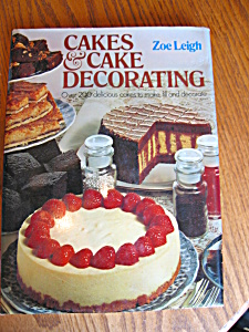 Vintage Zoe Leigh's Cake Decorating Book