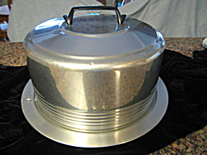 Vintage Regal Aluminum Cake Saver