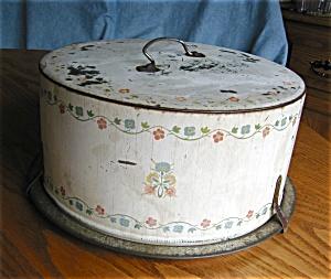 Vintage Tin Cake Saver (Image1)