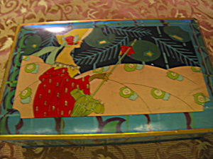 Vintage Art Deco Canco Tin (Image1)