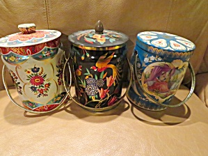Vintage Candy Tin Trio