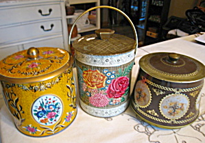 Vintage Candy Tin Assortment