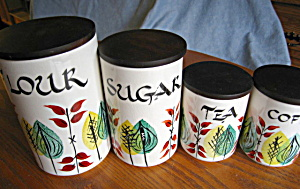 Arthur Wood English Cannister Set