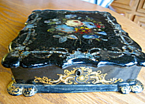 Victorian Mother Of Pearl Box