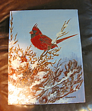 P. Swegles Oil Painting - Cardinal