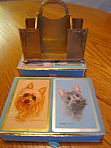 Vintage Apollo Card Holder And Congress Cards