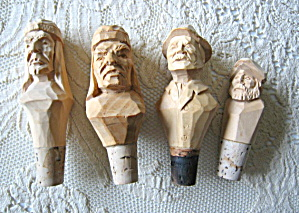 Carved Bottle Stoppers