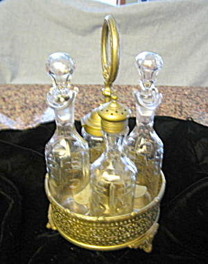 Victorian Antique Cruet Set