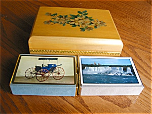 Card Box And Cards