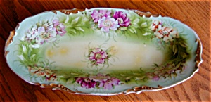 E.s. Germany Porcelain Celery Dish
