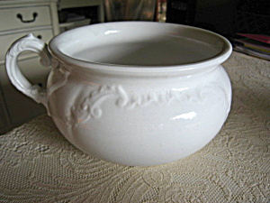 Large Antique Open Chamber Pot (Image1)