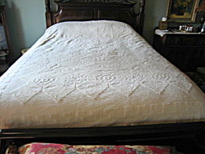 Vintage Chenille Full Queen Bedspread (Image1)