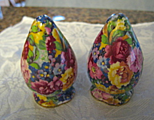 Vintage English Chintz Shakers (Image1)