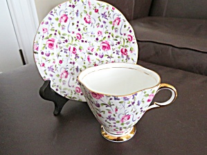 Clarence Vintage Chintz Teacup