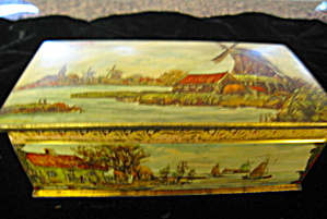 Vintage Tin Droste Holland Chocolate  (Image1)