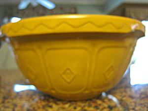 Church Gresley Yellow Ware  Bowl (Image1)