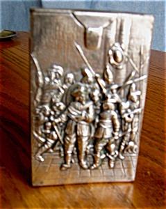 Vintage Silver Repousse Cigarette Case (Image1)