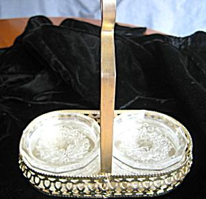 Vintage Intangilo Glass Coasters (Image1)