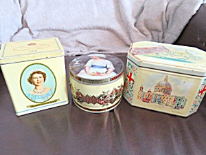 Tea, Toffee & Biscuit Tins