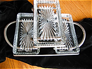Vintage Tiered Condiment Tray