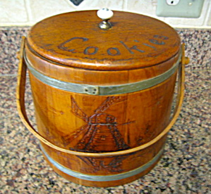 Vintage Cookie Firkin
