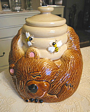 Bear & Beehive Cookie Jar