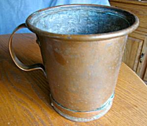 Large Antique Copper Vessel (Image1)