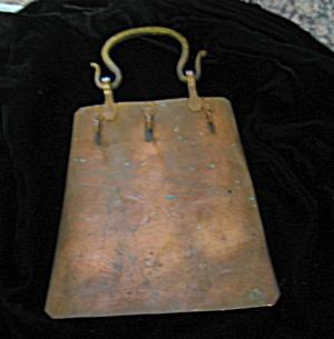 Vintage Copper Hook Rack (Image1)