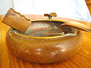 Vintage S & C Copper Ashtray (Image1)