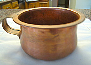 Copper Chamber Pot