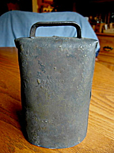 Antique Sargent Cowbell