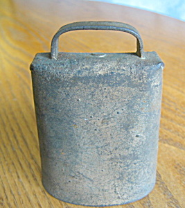 Antique Iron Cowbell