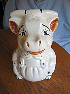 American Bisque Cow Cookie Jar