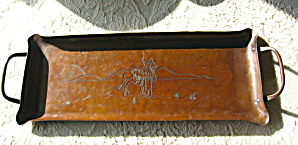 Arts & Crafts Copper Tray (Image1)