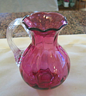 Vintage Cranberry Glass
