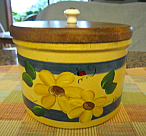 Vintage Ransbottom Butter Cheese Crock (Image1)