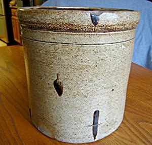 Large Saltglaze Antique Crock (Image1)