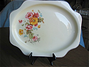 Vintage Crooksvilla China Platter