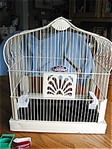Vintage Crown Birdcage