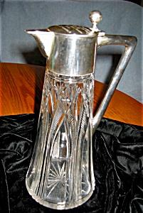 Antique Crystal Royal Trophy Pitcher (Image1)