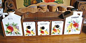 Ceramic Spice Set Vintage (Image1)