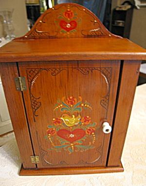 Vintage Artist Signed Cupboard (Image1)