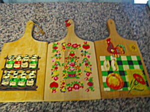 Collectible Wood Cutting Boards