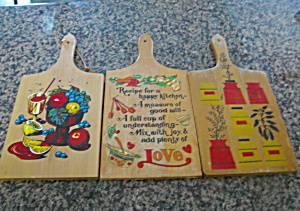 Vintage Kitchen Cutting Boards