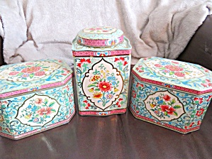 Daher Vintage English Tins