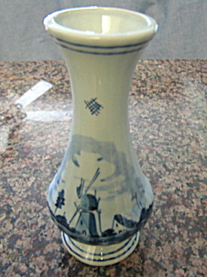 Delft Holland Bud Vase