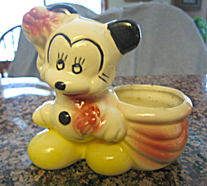 Vintage Mickey Mouse Planter