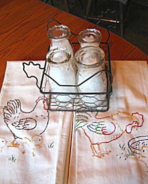 Vintage Milk Bottle Assortment (Image1)