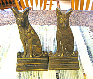 Vintage Dog Bookends